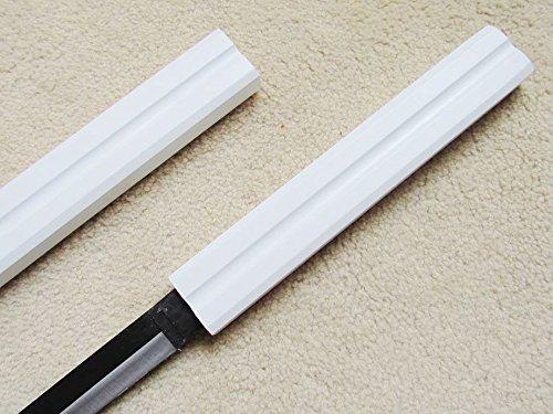 "AIT Collectibles S1606 Anime Naruto Sasuke Kusanagi NO TSURUGI Center Groove Sword Solid White 40"""