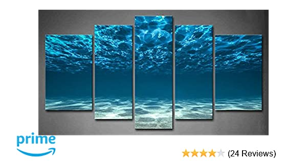 BLUE SEA CANVAS WALL ART PICTURES PRINTS VARIETY OF SIZES FREE UK P/&P