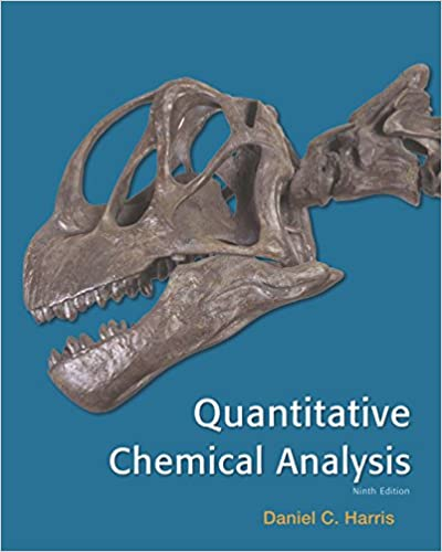 Quantitative Chemical Analysis  Daniel C Harris  AmazonCom