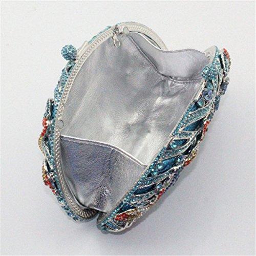 Main En Diamant Sac Sac à Luxe De Diamant Main Blue En Dames Pour à 5qznFfzp
