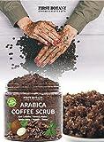 100% Natural Arabica Coffee Scrub with Organic