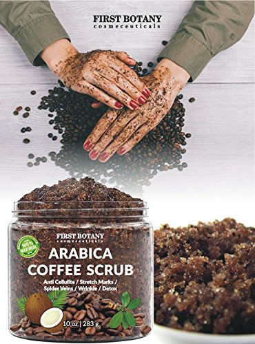 100-Natural-Arabica-Coffee-Scrub-with-Organic-Coffee-Coconut-and-Shea-Butter-Best-Acne-Anti-Cellulite-and-Stretch-Mark-treatment-Spider-Vein-Therapy-for-Varicose-Veins-Eczema