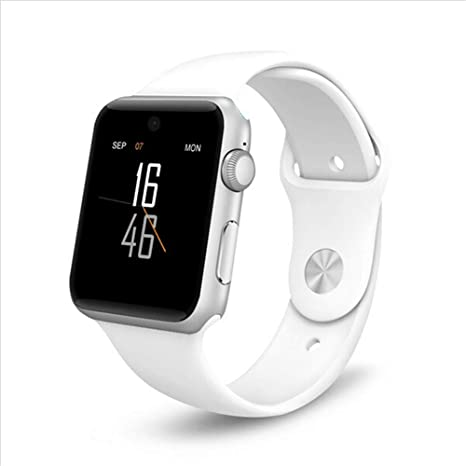 Amazon.com: LLWANIGN Smart Watch Smart Watch Bluetooth Round ...