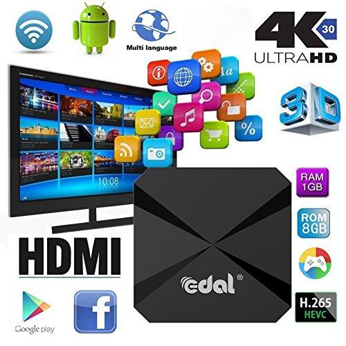 Mercu T95E Android TV BOX Android 5.1 RK3229 Quad Core 32bit TV Box Wifi 2.4GHz TV Box Support 4K HD Video HDMI(1G/8G) by Mercu