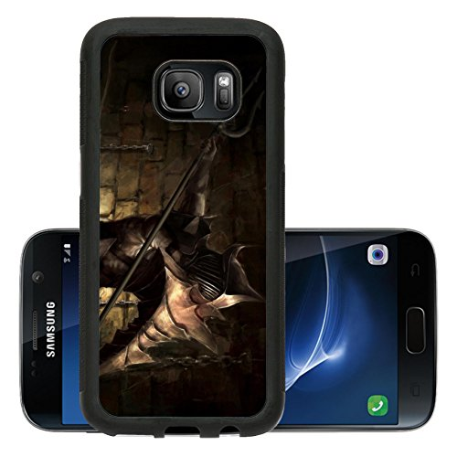 Liili Premium Samsung Galaxy S7 Aluminum Backplate Bumper Snap Case illustration of ancient gladiator hero Photo (Pictures Of Gladiators)