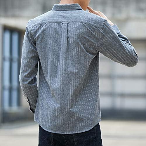 シャツ メンズ 长袖 オックスフォード シャツ カジュアル コットン シャツ オシャレ 無地 春 秋 冬