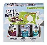 Little Remedies Infant Essentials Kit, Saline Spray/Drops, Gripe Water & Gas Relief Drops