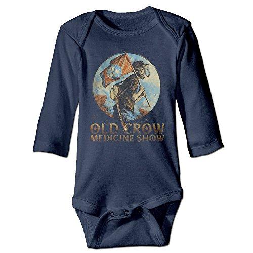 Unisex Baby Bodysuits Old Crow Medicine Show 6 M