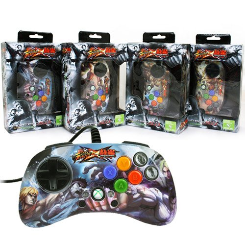 - Xbox 360 Controller Street Fighter X Tekken Fightpad Assorted (madcatz)
