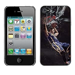 BasketCase Paul George King Kong Basketball Apple Iphone 5c / 5cS / / Slim 360 Protection Case Cover PC / Aluminium Protector Shell Rugged