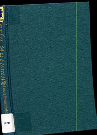 book cover of Early Autumn