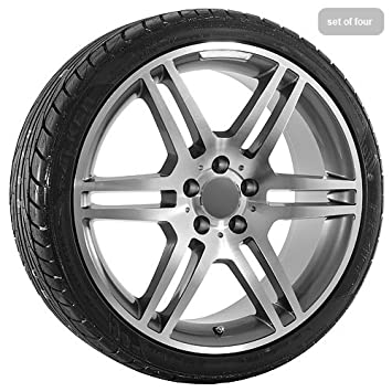 Mercedes Benz Rims >> Amazon Com 19 Inch Mercedes Benz Amg Wheels Rims Tires Automotive