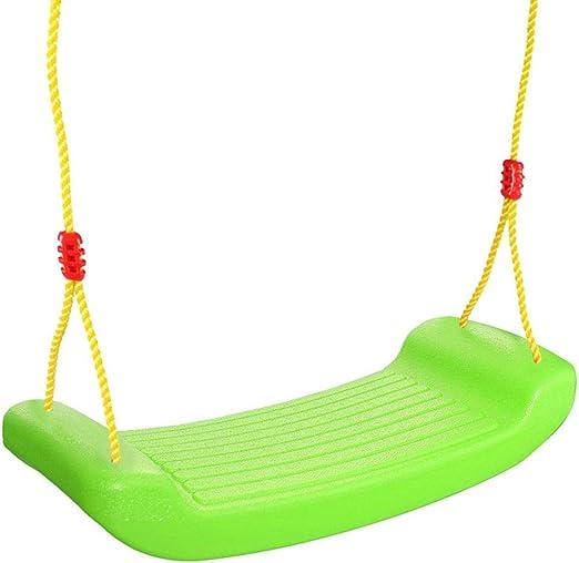 Columpio Jardin Infantiles Juguete Swing Set, Columpio Infantil De Plástico para Exterior, Regalos para Niños Niñas 3 Años Y Mayores (Verde): Amazon.es: Hogar