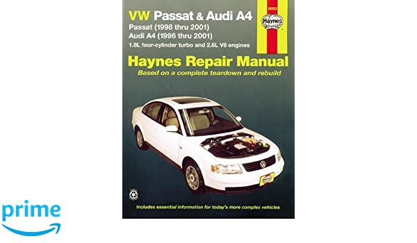 Haynes VW Passat & Audi A4 Automotive Repair Manual Haynes Automotive Repair Manual: Amazon.es: J. J. Haynes: Libros en idiomas extranjeros