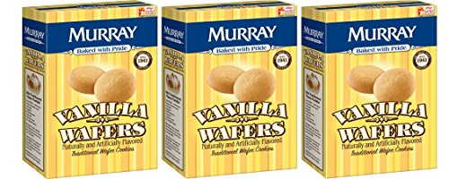 Murray Cookies Vanilla Wafers, 12 oz, Pack Of ()