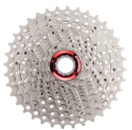 BOLANY 10 Speed Cassette Fit for Mountain Bike, Road Bicycle