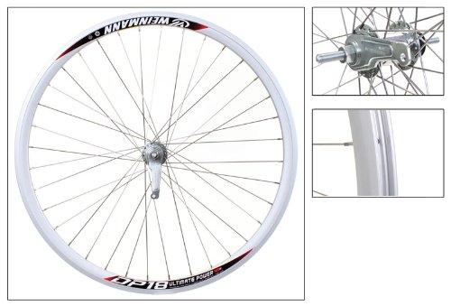 Wheel Master Alloy 700C Urban Rear Wheel, Bolt On, 36H, Silver
