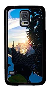 Samsung Galaxy S5 landscapes nature snow 12 PC Custom Samsung Galaxy S5 Case Cover Black by icecream design