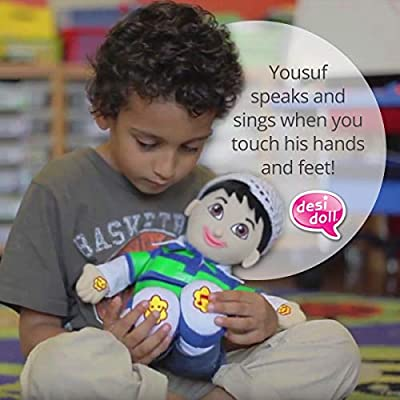 Yousuf Talking Muslim Doll: Toys & Games