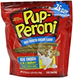 Pup-Puperoni Oven Roasted Dog Snacks, Chicken, 25 Ounce, My Pet Supplies