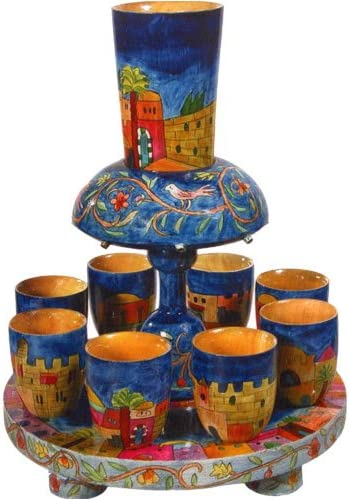 Yair Emanuel Kiddush Fountain Jerusalem – Ct FN-1