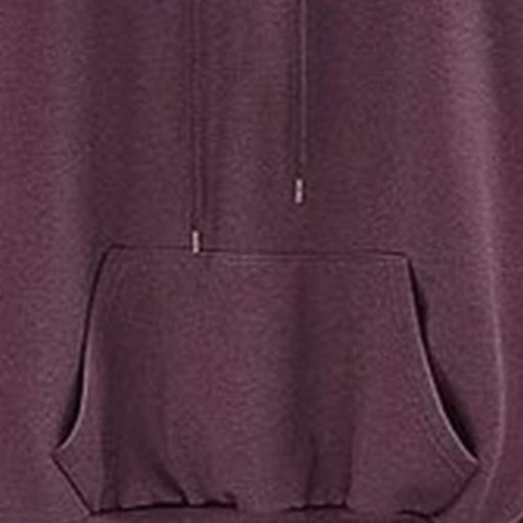 L-XXXXXL Panfinggin Womens Hoodies Tunic Long Sleeve Pullover Oversize Sweatshirts with Kangaroo Pocket