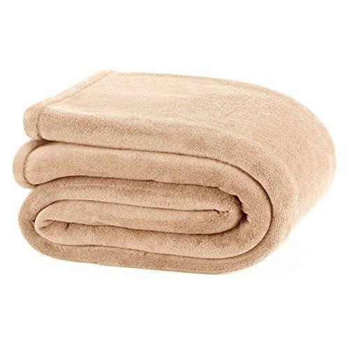 Martex Plush Blanket, King, - Ivory Martex Blanket