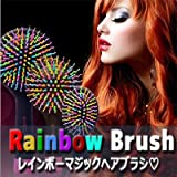 [EYECANDY] Patented Rainbow S-Curl Air Volume Brush With Back Mirror for Abundant hair & Detangling Comb offers
