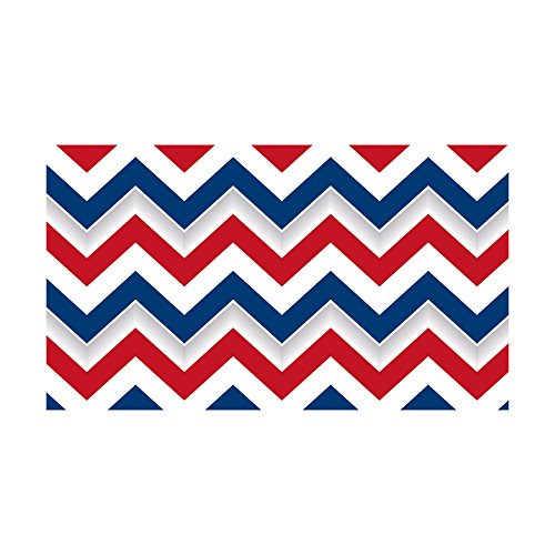 Edupress Patriotic Chevron Straight Border Trim (EP63274)