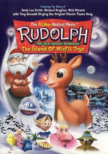 d Reindeer & the Island of Misfit Toys POSTER Movie (11 x 17 Inches - 28cm x 44cm) (2001) (Rudolph Island Misfit Toys Dvd)
