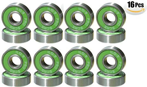 Mini-Skater-Skateboard-Bearings-for-Skate-Deck-Longboard-Green