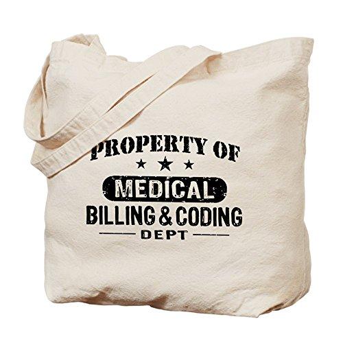 CafePress - Medical Billing And Coding - Natural Canvas Tote Bag, Cloth Shopping - Billings Stores