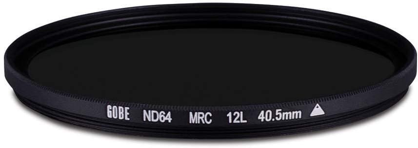 Gobe ND64 37mm MRC 12-Layer ND Filter