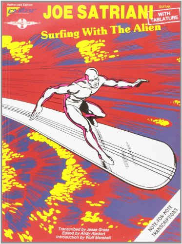 Hal Leonard Joe Satriani Surfing with The Alien Guitar Tab Songbook (Joe Guitar Tabs Satriani)