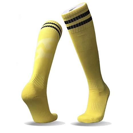 Hombres Deportes Calcetines, Calcetines De Futbol, Transpirable Larga De Tubo De Toalla De Fondo