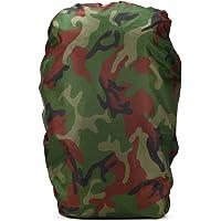 ruifu camuflaje mochila lluvia cubierta 60–80L mochila plegable resistente al agua a prueba de polvo protector de pantalla para al aire libre Camping viaje