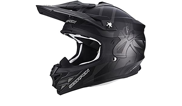 Amazon.es: Scorpion VX de 15 Evo Air Robot Negro Mate - Casco de motocross