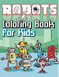 Amazon Robots Coloring Book Dover Coloring Books