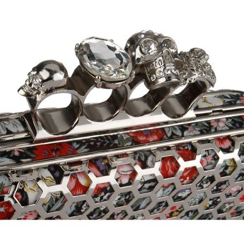 SARAH KERN NYMPHALIS Design Handtasche, mit synthetischen Steinen besetzt, GLAM Kollektion, SW00358