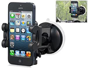 Multi-function Mount Holder for iPhone (Black)