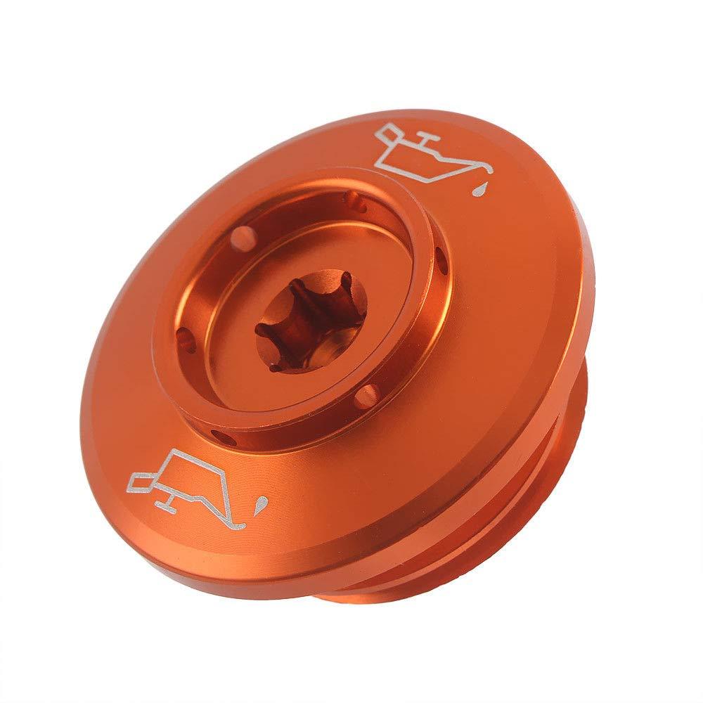 UltraSupplier Orange CNC Aluminum Engine Camshaft Oil Filter Cup Cap Cover Nut Bolt Plug Screw for KTM 1090 1190 1290 ADV S R