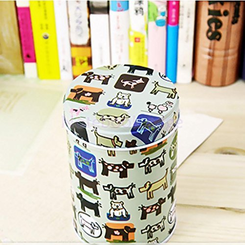 9cm Coffee Tea Sugar Canisters Kitchen Double Cover Food Sto