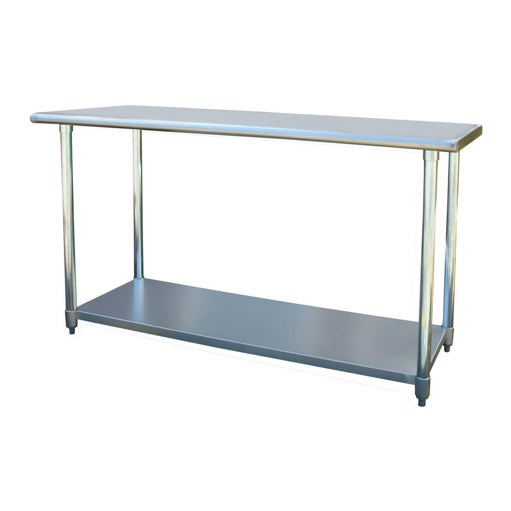 Amazon.com : Sportsman Stainless Steel Work Table, 24 by 60-Inch ...