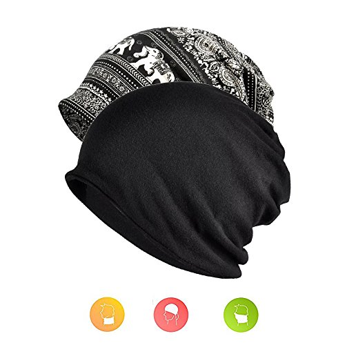 Slouchy Beanies Hats Knit Mens Beanie Hat for Women Summer Cute Hat Beanie for Jogging, Cycling by W&Y YING