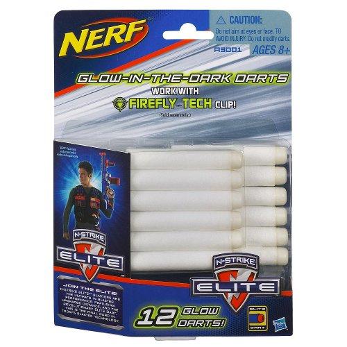 Official Nerf N-Strike Elite Series 12 Glow Dart Refill Pack
