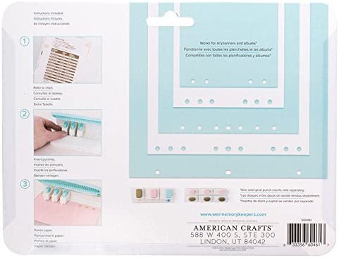 Candy Box Cutter ~ Punch ~ Maker ~ Instructions ~ Create Your Own Boxes with One Tool. RETIRED ~ New WE R Memory Keepers