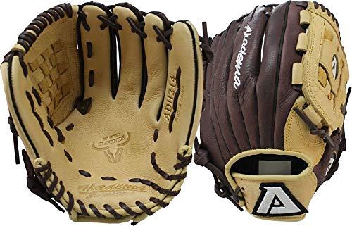 Akadema ADH-214FR Pro Soft Series 12.0 Inch Baseball Pitcher/Infield Glove Left Hand Throw (Akadema 12 Pitchers)