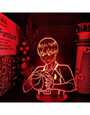 Haikyuu kageyama tobio 3D Led ANIME LAMP Nightlights Kleur veranderende lampara Voor kerstcadeau