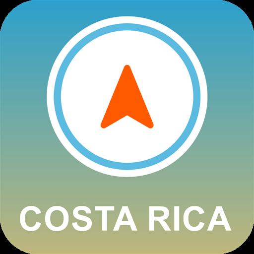 Costa Rica Offline GPS