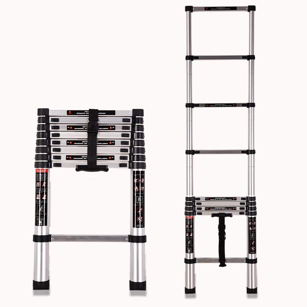 ZR 折り畳み梯子, アルミニウム合金延長ラダー、EN131認証リフティングストレートラダー、ノンリップ330Lb / 150Kg容量、スプリング式ロック機構付き アウトドア伸縮はしご (サイズ さいず : Straight ladder 4.1m) B07L3JDMGN  Straight ladder 4.1m
